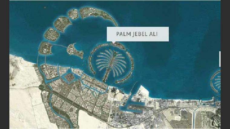 El lujoso complejo de Dubai en el que vive Diego Maradona. (Foto: www.palmjumeirah.ae).