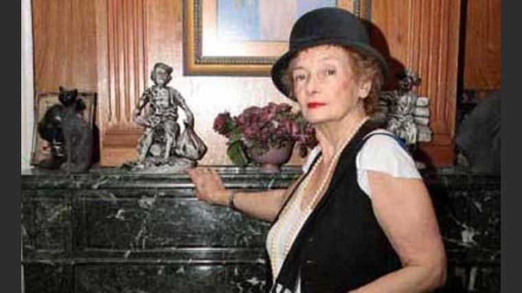 La madre de Gustavo Cerati debutó como modelo. (Foto: Menosmal!).