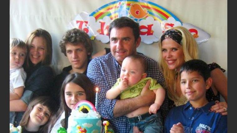 El cumpleaños de Thiago Rodríguez, el hijo de Nazarena Vélez. (Foto: álbum Nazarena Vélez)