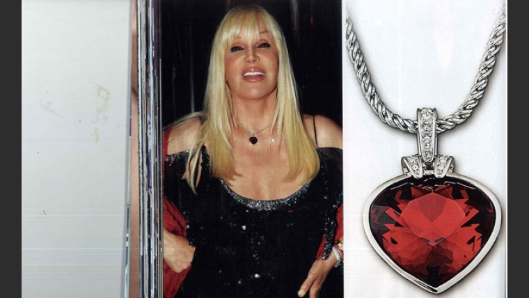 El regalo de Rod Stewart a Susana Giménez (Foto: Revista Caras).