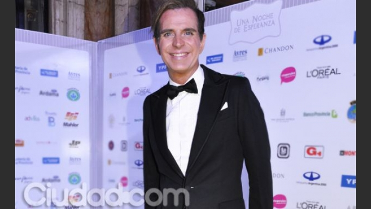 Jorge Ibáñez, look gala. (Foto: Jennifer Rubio)