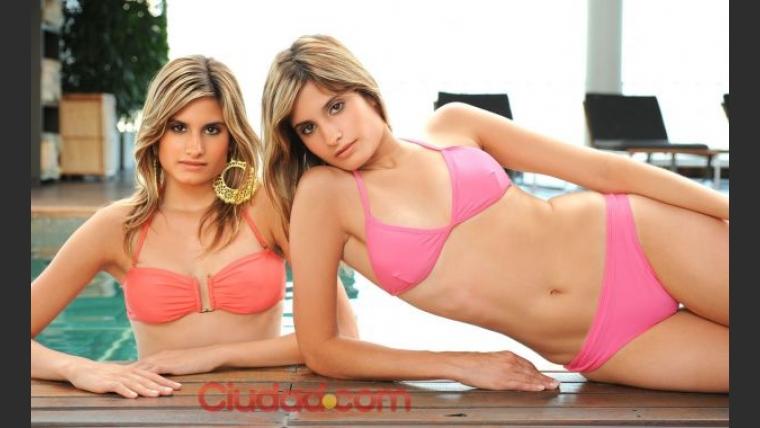 Las gemelas de Gran Hermano 2012 (Foto: Maxi Didari – Ciudad.com)