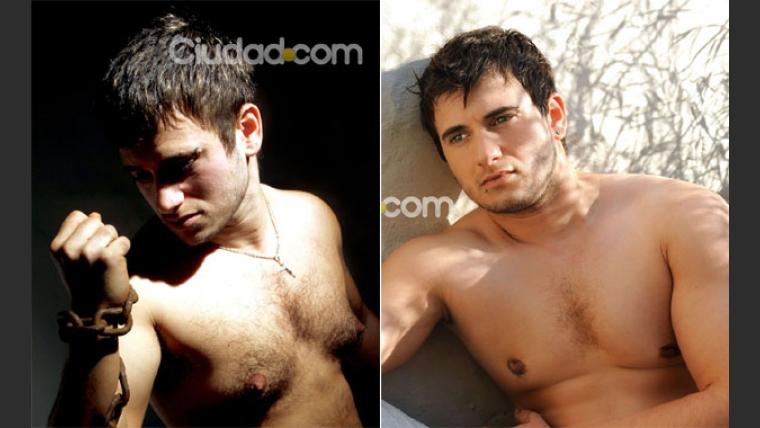 El antes y el después de Alejandro Iglesias. (Fotos: Manuel Padilla y Maxi Didari)