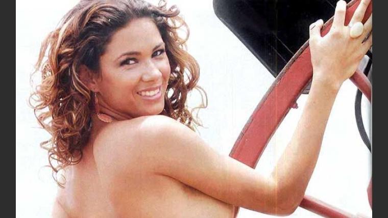 Vanesa Simón, morocha sensual en Soñando por Bailar. (Foto: Hombre)