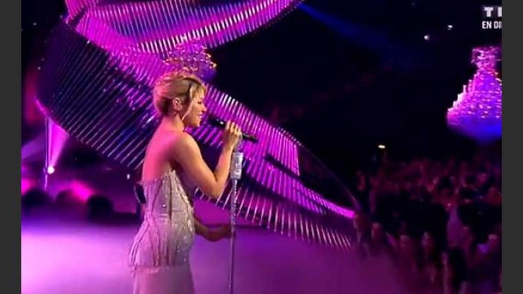 La sospechosa pancita de Shakira. (Foto: Captura de video)