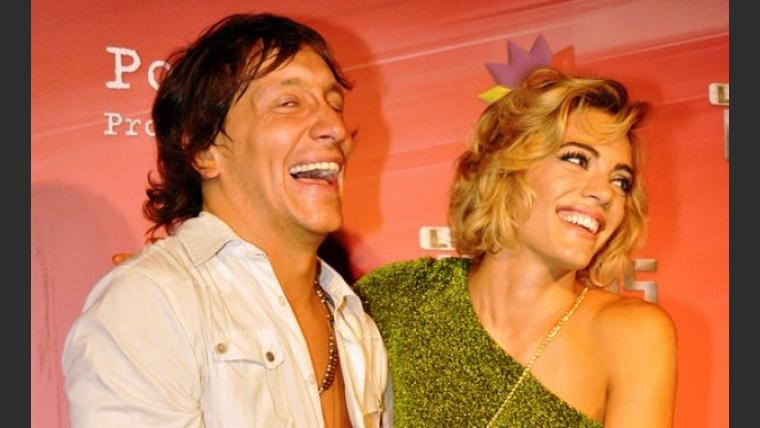 Nicolás Vázquez y Emilia Attias en la presentación de Los Unicos 2. (Foto: Jennifer Rubio)