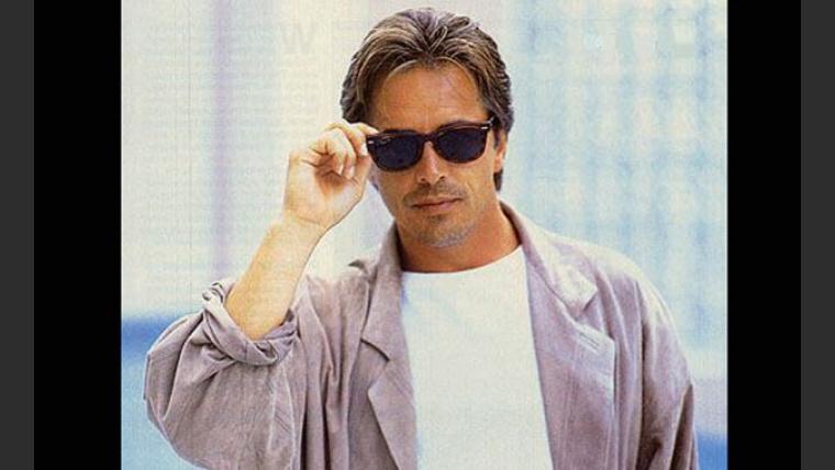Don Johnson en tiempos de División Miami. Galán sin fronteras. (Foto: Web)
