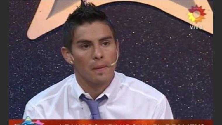 Leandro Martínez abandonó Soñando por bailar 2. (Foto: Captura de TV)
