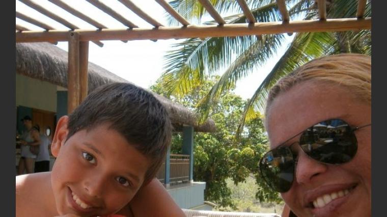 El álbum de fotos de las vacaciones de Nazarena Vélez junto a su familia en Brasil. (Foto: Nazarena Vélez)