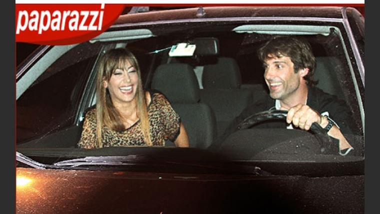 Sol Estevanez y Segundo Cernadas se fueron juntos del desfile de Cuggini. (Foto: revista Paparazzi)