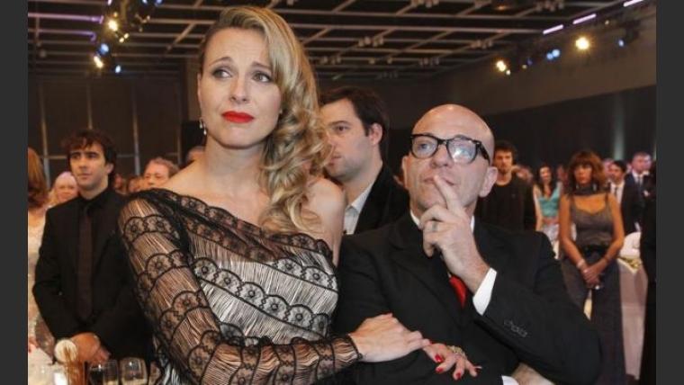 Denise Dumas y Campi, inseparables. (Foto: El Trece)