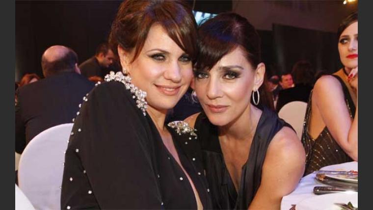 Nancy Dupláa y Paola Krum, amiguísimas. (Foto: El Trece)