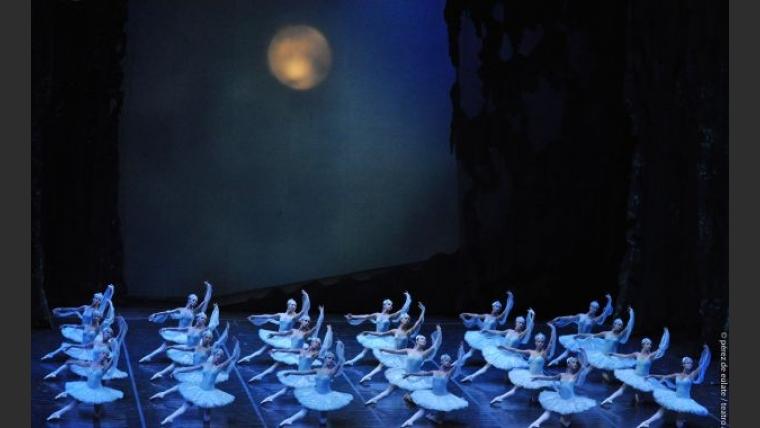 El Ballet Argentino de La Plata, que acompaña a Eleonora Cassano en La Bayadera. (Foto: Prensa)