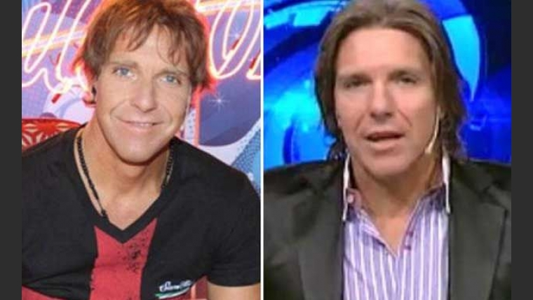 El antes y el después de Alejandro fantino. (Foto: Web)
