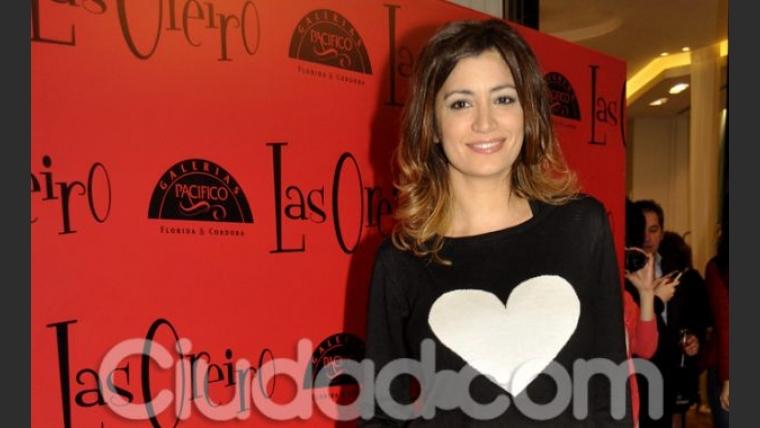 Carla Conte, en el local de Natalia Oreiro. (Foto: Jennifer Rubio - Ciudad.com)