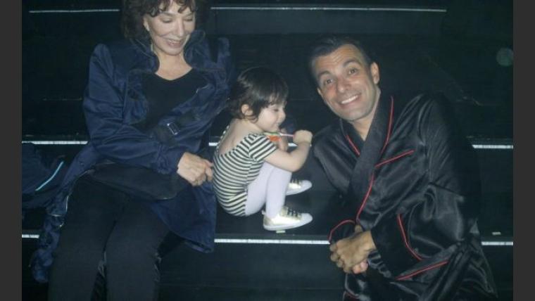 La nieta de Graciela Borges debutó en el escenario junto a Martín Bossi