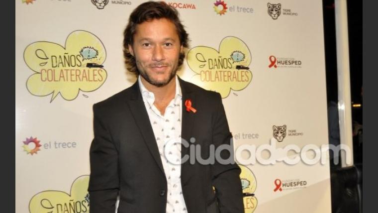 Diego Torres, en el evento organizado por Fundación Huésped. (Jennifer Rubio - Ciudad.com)