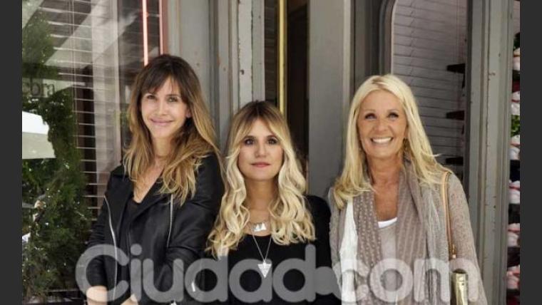 Guillermina Valdés, Micaela Tinelli y Evelyn Scheidl. (Foto: Jennifer Rubio-Ciudad.com)