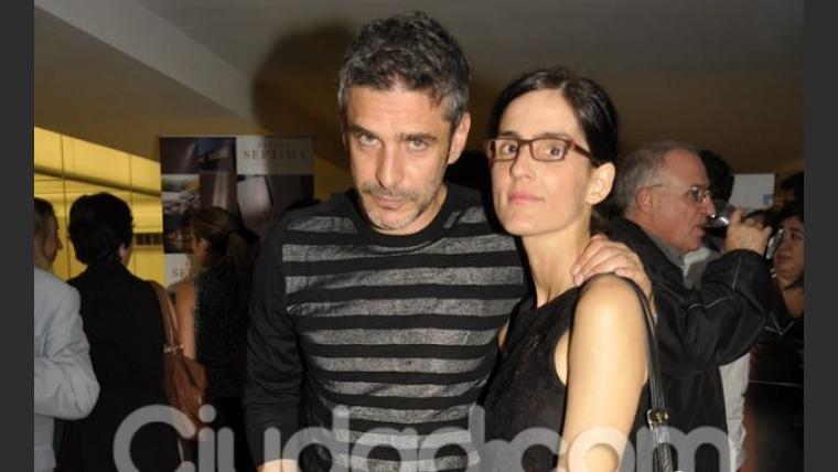 Leo Sbaraglia y su mujer, Guadalupe. (Foto: Jennifer Rubio-Ciudad.com)