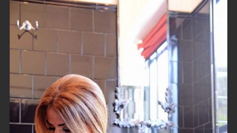 Marina Calabró y su destape más sensual. (Foto: Maxi Didari - Ciudad.com)