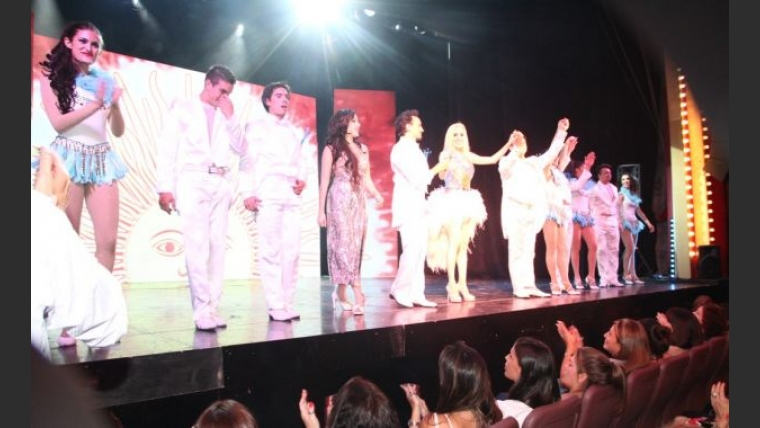 Fatima Florez debutó en el Teatro Premier con Fátima Florez es única....Fátima Florez es la presidenta del humor