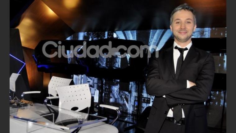 Diego Iglesias en la presentación de CQC. (Foto: Jennifer Rubio-Ciudad.com)