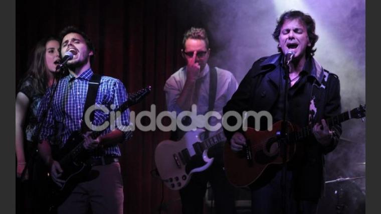 Roco, la banda de Benjamín Rojas, Felipe Colombo y Willy Lorenzo. (Foto: Jennifer Rubio para Ciudad.com)