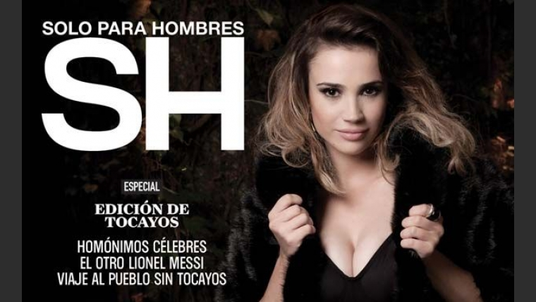 Celeste Cid, sensual en Revista SH. (Foto: Revista SH)