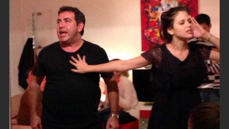 Diego Pérez y Bárbara Vélez. (Foto: Prensa Jaz)