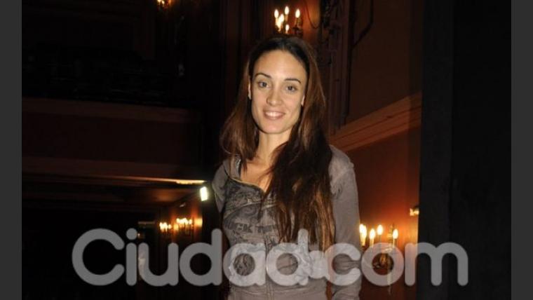 Martina Gusman en la presentación de La Casa de Bernarda Alba (Foto: Jennifer Rubio).