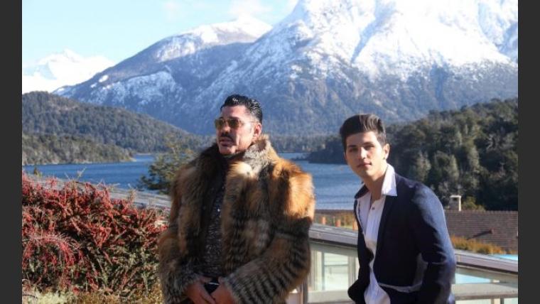 Las (¡carísimas!) vacaciones de Fort y Rodrigo Díaz, en Bariloche (Foto: gentileza Siria Group).