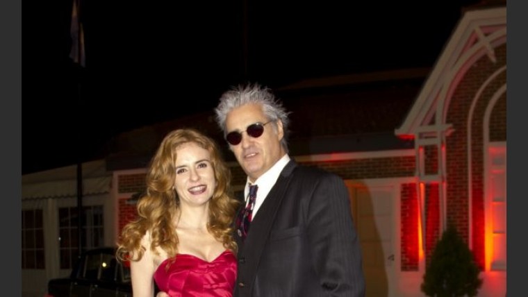Roberto Pettinato y su mujer Karina. (Foto: Tiff)
