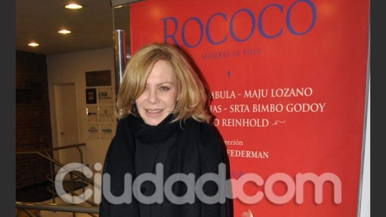 Cecilia Roth fue a ver Rococó.  (Foto: Jennifer Rubio-Ciudad.com)