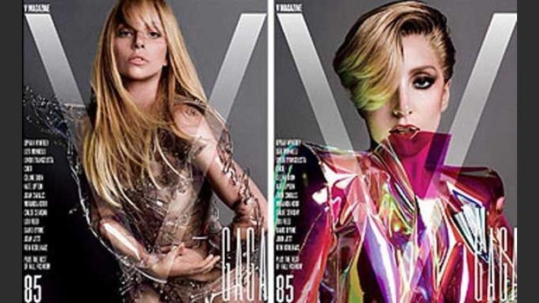 Lady Gaga, provocativa con sus fotos desnuda. (Foto: V Magazine)