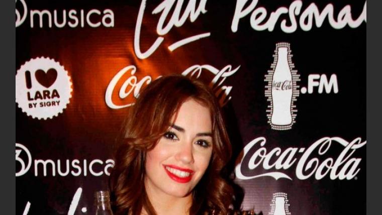 Lali Espósito, diosa en la presentación de su carrera solista (Foto: Coca-Cola).