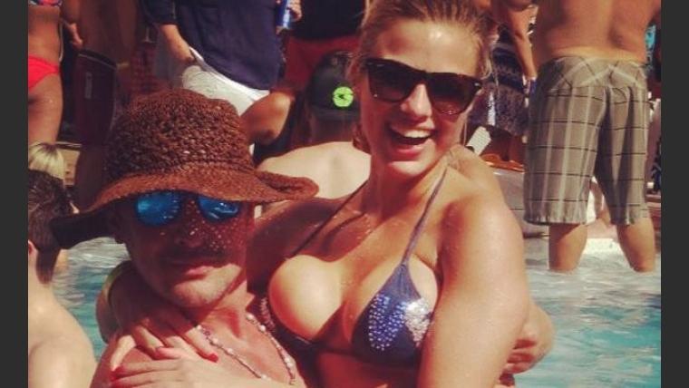 Ailén Bechara y Lorena Wells, en Las Vegas (Foto: álbum personal de Ailén Bechara).