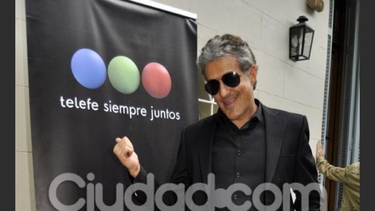 Ivo Cutzarida, otro de los actores de Taxxi. (Foto: Jennifer Rubio-Ciudad.com)