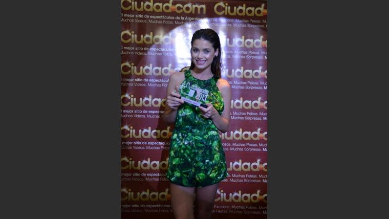 Vitto Saravia, belleza uruguaya en Los Más Clickeados 2013. (Foto: Maxi Didari - Ciudad.com)