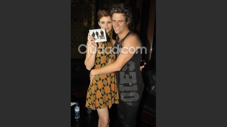 Mike Amigorena y Mónica Antonóulos, enamorados en el show de Mox (Foto: Jennifer Rubio).