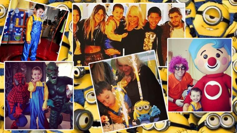 Todas las fotos del cumpleaños de Thiago, el hijo de Nazarena (Fotos: Instagram).