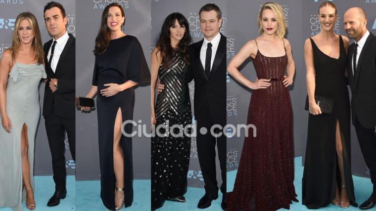 Todas las estrellas en los Critics' Choice Awards (Fotos: AFP).
