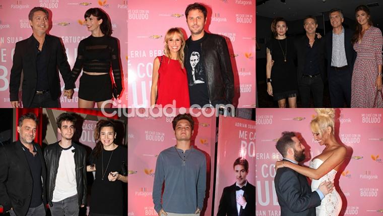 Todas las fotos de la avant premier de Me casé con un boludo. Fotos: Movilpress-Ciudad.com.