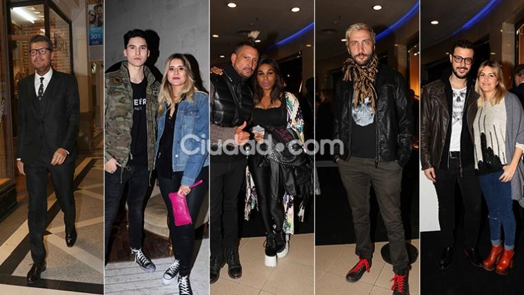 Los famosos en el evento de Ginebra Hommes. Fotos: Movilpress-Ciudad.com.