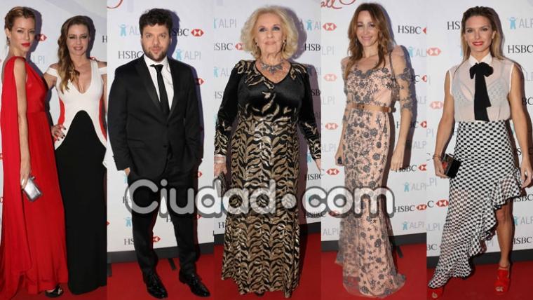 Todos los famosos en la gala solidaria de ALPI (Fotos: Movilpress).