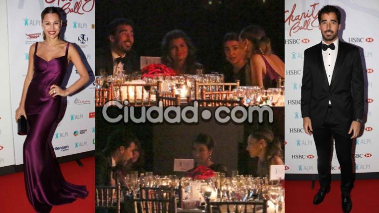 Pampita y Nacho Viale se reencontraron en la gala de ALPI (Fotos: Movilpress).