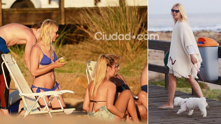 Valeria Mazza, una diosa infaltable en el verano de Punta del Este. (Foto: GM Press)