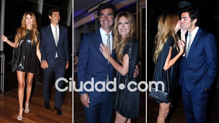 Juan Manuel Urtubey acompañó a Isabel Macedo a la presentación de Amar después de amar. (Foto: Movilpress - Ciudad.com)