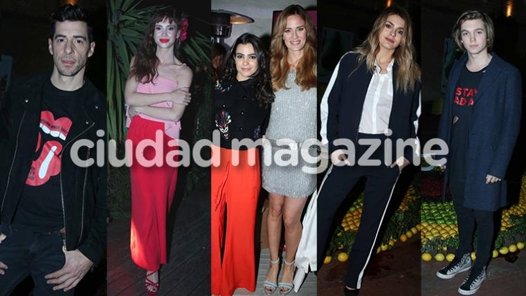 Los mejores looks de los famosos del momento en la noche porteña (Fotos: Movilpress).