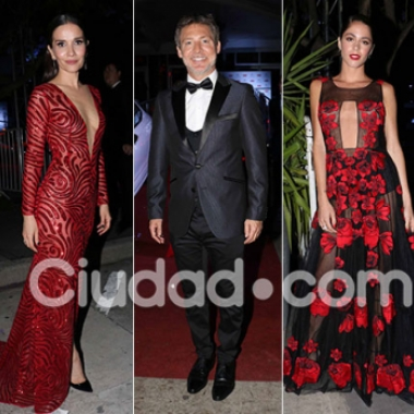 Diosas, súper escotes y looks top en la gala homenaje a Adrián Suar de la revista Caras: ¡todas las fotos!. (Foto: Movilpress)