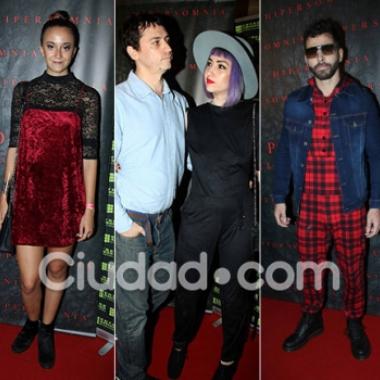 ¡Noche de cine! Looks y famosos cool en la alfombra roja de la premiere de Hipersomnia. (Foto: Movilpress)